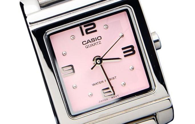 Đồng hồ Casio LTP-1237D-4ADF sắc hồng nổi bật