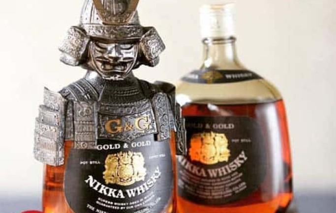 Bật mí sản phẩm về Rượu Whisky Nikka Samurai Nhật Bản
