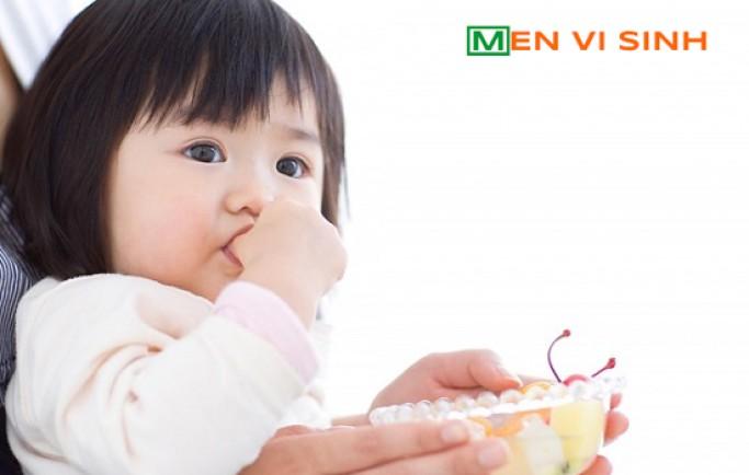Các mẹ sử dụng chế phẩm nào để chữa cho bé khi bị bệnh tiêu hóa?