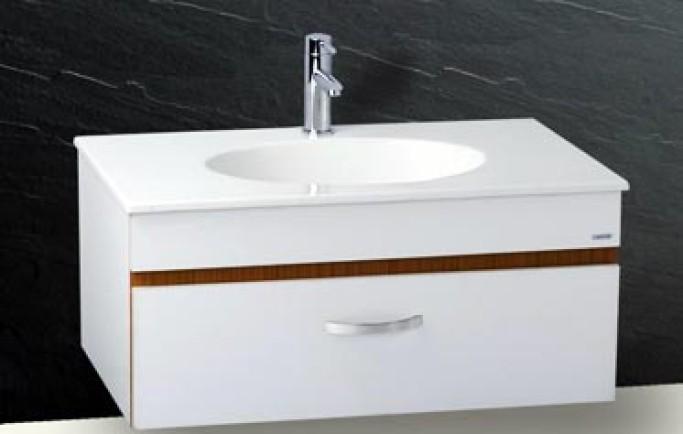 Công ty Thái Hà giới thiệu bộ tủ chậu Caesar LF5026 giá tốt nhất