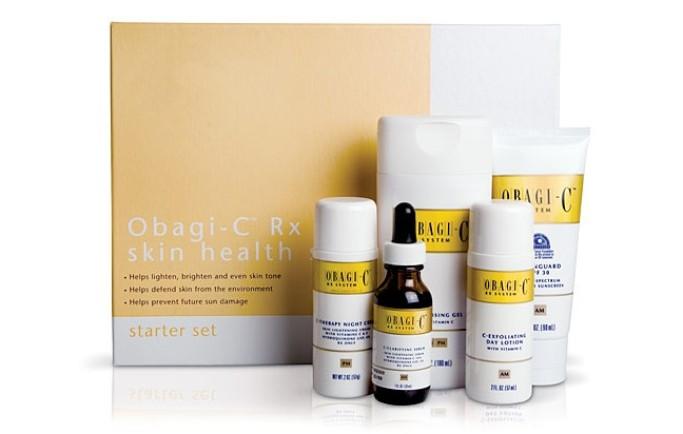 Đẩy lùi nám và lão hóa da với OBAGI-C Rx System