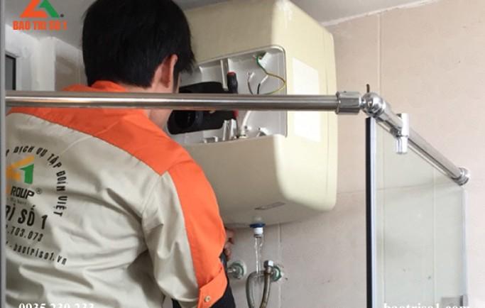 Dịch vụ bảo dưỡng sửa chữa bình nóng lạnh tại nhà giá rẻ nhất