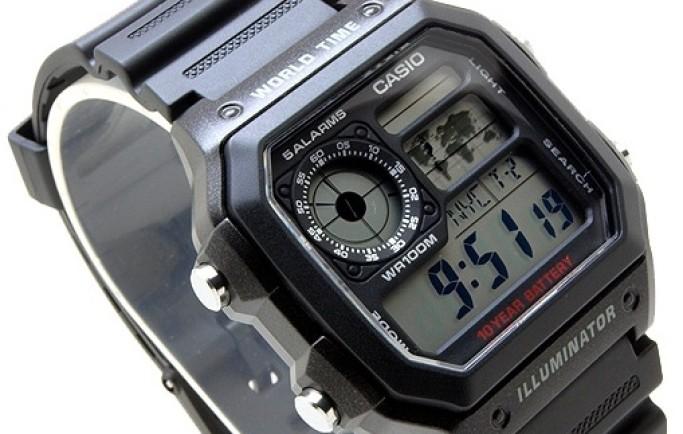 Đồng hồ Casio AE-1200WH-1AV cổ điển thu hút trên thị trường