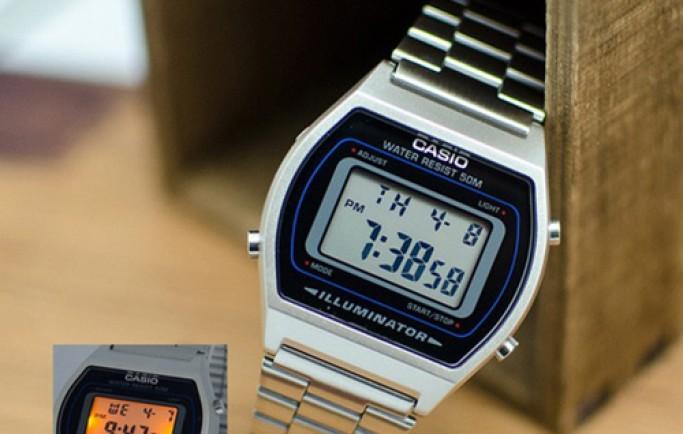 Đồng hồ Casio B640WD-1AVDF cổ điển cuốn hút