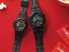 Đồng hồ Casio Baby-G BA-110TP-1A màu đen bí ẩn cho cô cô nàng cá tính