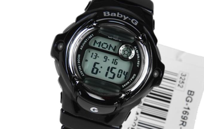 Đồng hồ Casio Baby-G BG-169R-1HDR thiết kế thu hút cô nàng mạnh mẽ