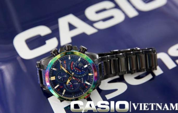 Đồng hồ Casio EQB-500RBB-2A lịch lãm cho đấng mày râu