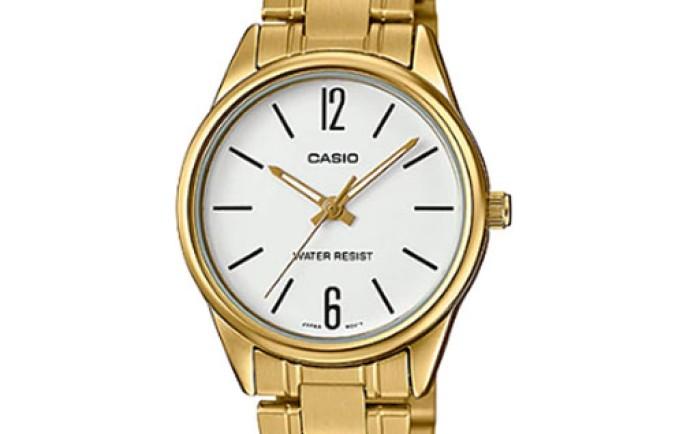 Đồng hồ Casio LTP-V005G-7BUDF mạ vàng sang chảnh