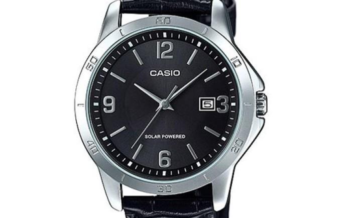 Đồng hồ Casio MTP-VS02L-1AD màu đen cá tính