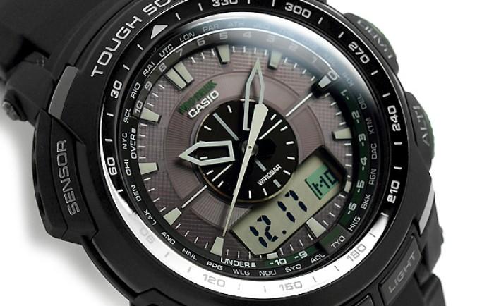 Đồng hồ Casio PRG-S510-1DR toát lên sự vững chắc khỏe khoắn của chàng trai
