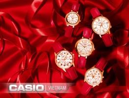 Đồng hồ Casio Sheen SHE-3046GLP-7BUDR phong cách trẻ trung