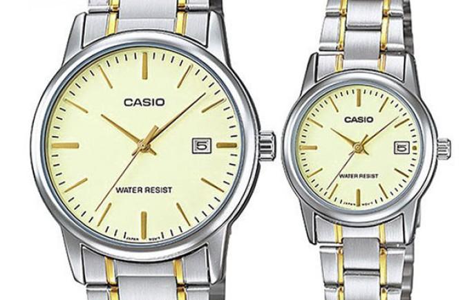 Đồng hồ đôi Casio MLP-V002SG-9AUDF đưa 2 người đến gần nhau hơn