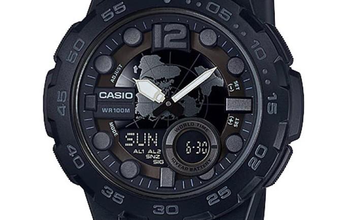 Đồng hồ Nam Casio AEQ-110W-1BV thể thao năng động