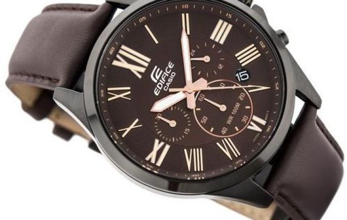 Đồng hồ nam Casio Edifice EFV-500BL-1AVUDF  sắc nâu độc lạ