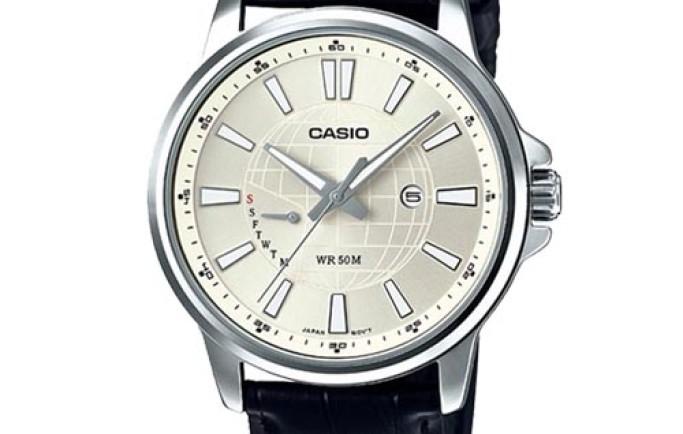 Đồng hồ nam Casio MTP-E137L-9AVDF nổi bật cùng màu đen trắng