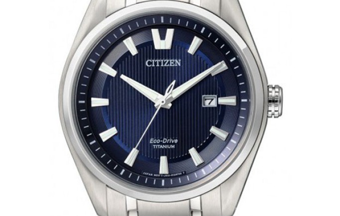 Đồng hồ nam Citizen AW1240-57L thiết kế mạnh mẽ