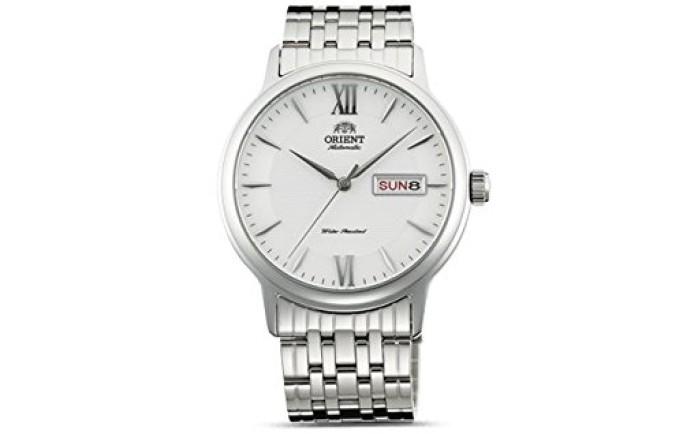 Đồng hồ nam Orient cơ SAA05003WB  trắng thanh lịch cuốn hút