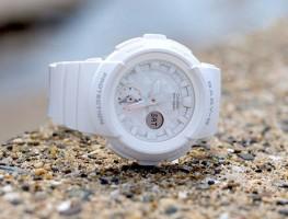 Đồng Hồ Nữ Casio Baby G BGA-195-7A màu trắng cá tính nổi bật