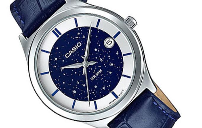 Đồng hồ nữ Casio LTP-E141L-2AVDF  dây da mềm mại