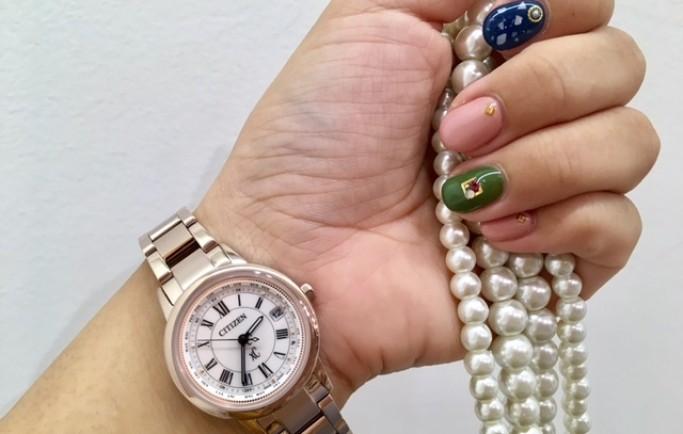 Đồng Hồ Nữ Citizen EC1144-51W mạ vàng hồng quý phái