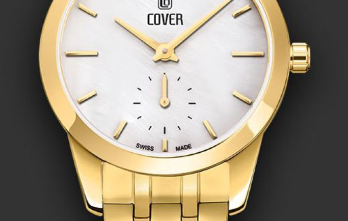 Đồng hồ Nữ Cover CO195.03 sang trọng cùng sắc vàng