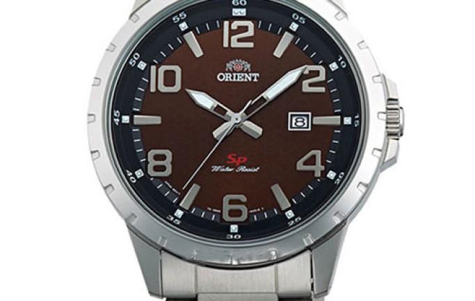 Đồng hồ Orient FUNG3001T0 mặt nâu cuốn hút