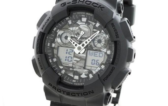 G-Shock GA-100CF-8ADR dòng thể thao dành cho nam mạnh mẽ cuốn hút