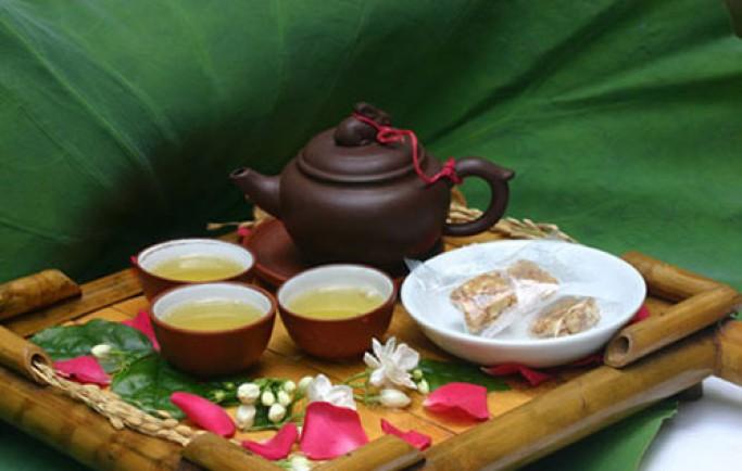 Giảm cân trong 7 ngày với trà xanh
