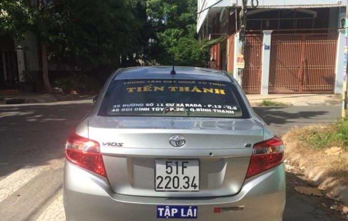 Học lái xe ở quận tân phú gần nhà, giá trọn gói hợp lý