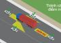 Hướng dẫn cách tránh điểm mù của xe tải