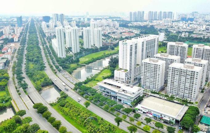 Không gian sống xanh mát tại khu đô thị The King City - Địa Ốc Long Phát