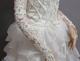 Làm thế nào để cô dâu bắp tay bự mặc áo cưới cúp ngực tự tin hơn?