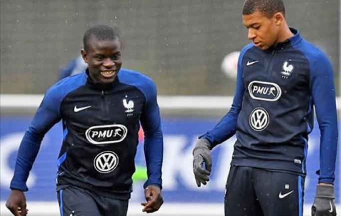 Mbapp kêu gọi Kante bỏ Chelsea sang PSG