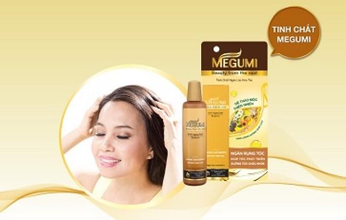 Ngừa tóc rụng và hỗ trợ mọc tóc - sử dụng dầu gội megumi