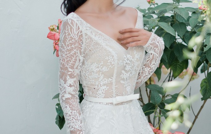 Những mẫu áo cưới đơn giản được nhiều cô dâu yêu thích 2018
