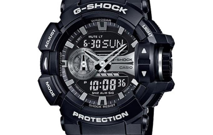 Phongcách thể thao mạnh mẽ cùng đồng hồ Casio G-Shock GA-400GB-1ADR