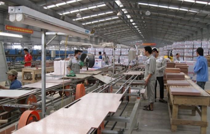 Sơ Đồ của hệ thống xử lý bụi công ty gạch men