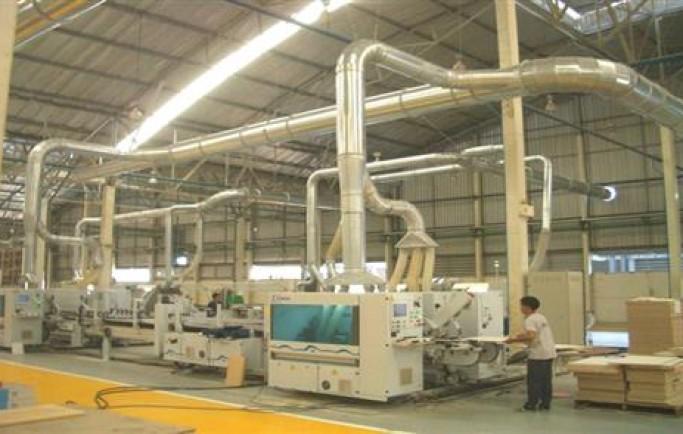 Sơ Đồ của hệ thống xử lý bụi gỗ