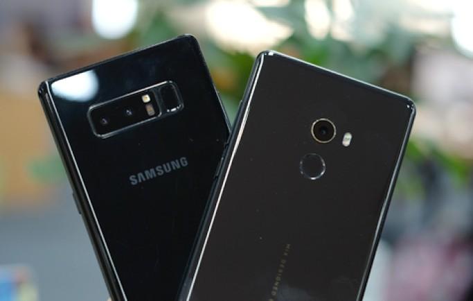 So sánh camera Xiaomi Mi Mix 2 và Galaxy Note 8