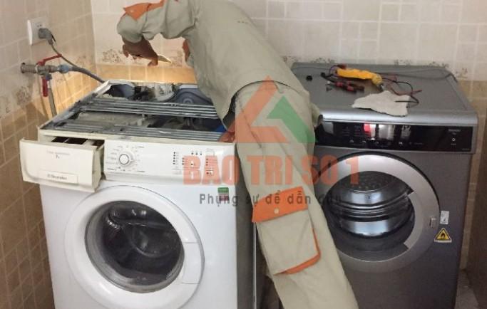 Sửa máy giặt không vào nước ngay tại nhà hết lỗi triệt để ngay