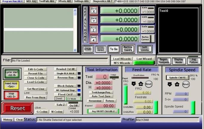 Tải Phần mềm Mach3 CNC vs 3.042 Full & Video HDSD