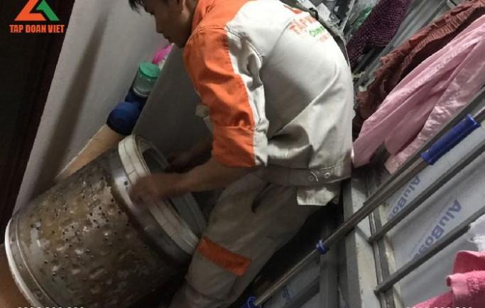 Tập Đoàn Việt nhận sửa máy giặt uy tín tại nhà lỗi hết nhanh