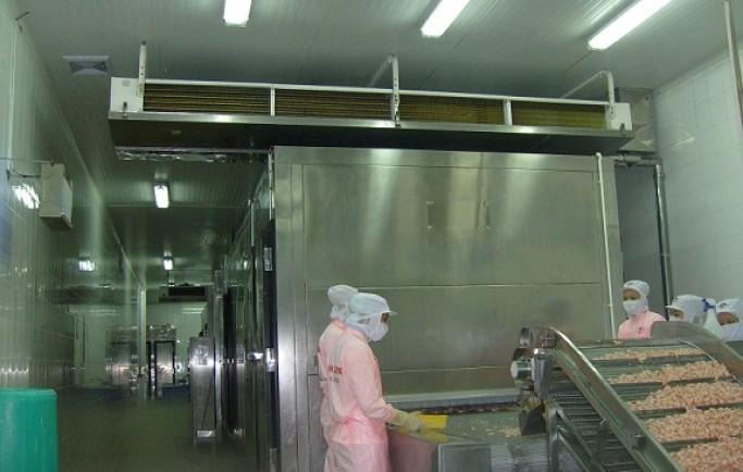 Thiết kế Hệ thống điện điện lạnh kho lạnh bảo quản hải sản