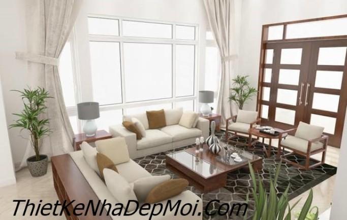 Thiết kế phòng khách theo phong cách hiện đai