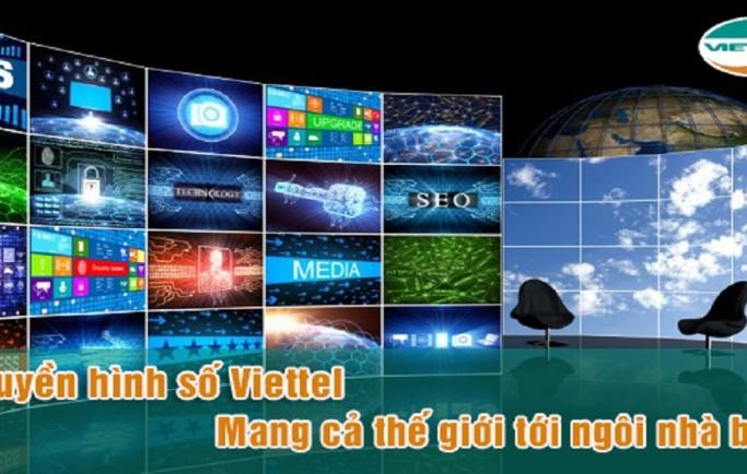 Thông tin khuyến mãi cáp quang và truyền hình Viettel mới nhất 2018
