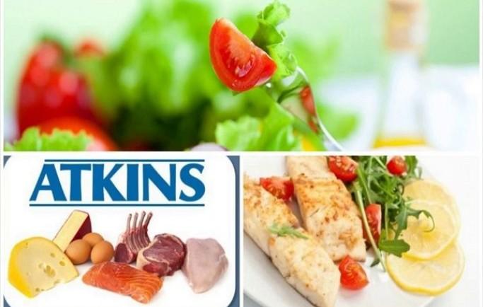 Thực đơn giảm cân atkins không cần tập luyện