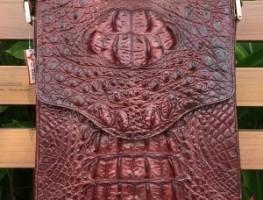 Túi Xách Vỏ Sò Cá Sấu TXCS13 Màu Tím Chỉ 5TR9