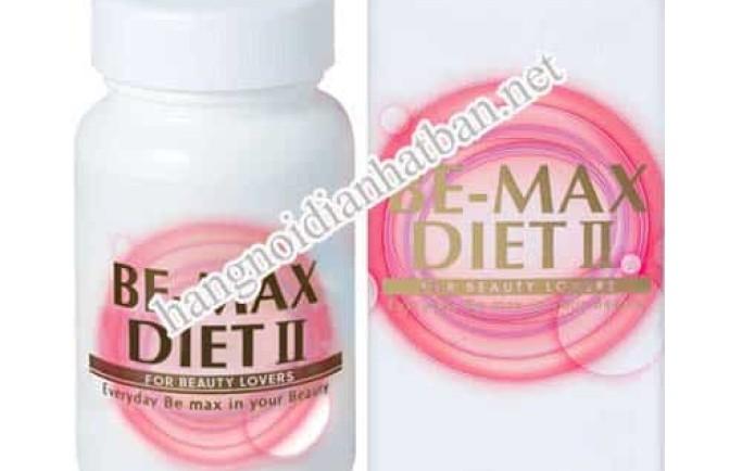Viên uống hỗ trợ giảm cân Be-Max Diet II Nhật Bản khá hiệu quả