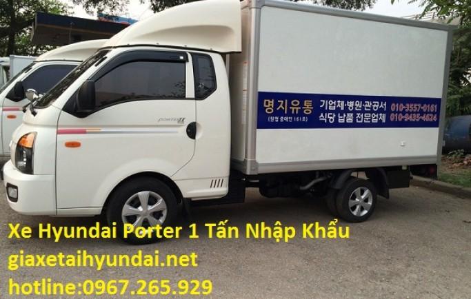 Xe Tải Hyundai 1 Tấn Cũ Nhập Khẩu Đời 2013 Gía Rẻ