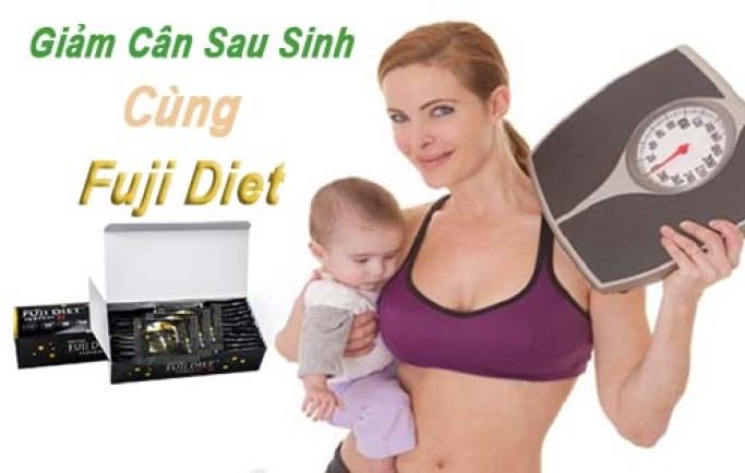 Xóa mỡ và nếp nhăn nhanh chóng với thực đơn giảm cân mẹ cho con bú